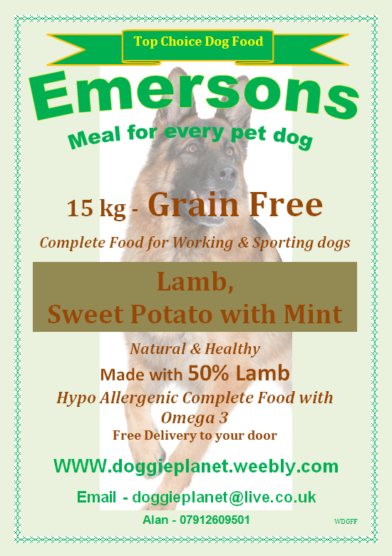 Grain Free Dog Food Whippet